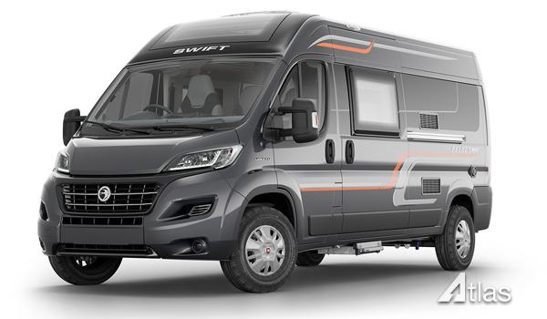 Luxury Campervan – 2-4 berth (Manual)1