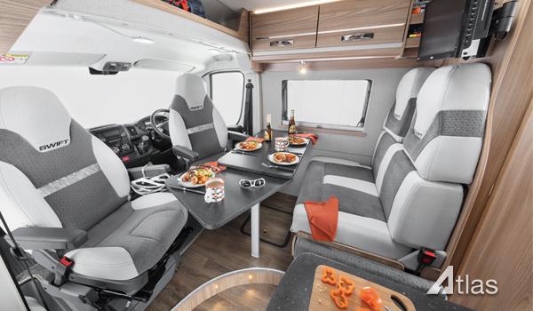 Luxury Campervan – 2-4 berth (Manual)2