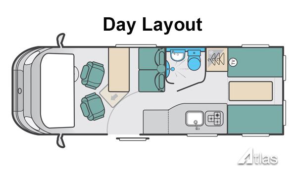 Luxury Campervan – 2-4 berth (Manual)6
