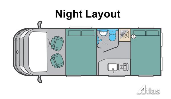 Luxury Campervan – 2-4 berth (Manual)7