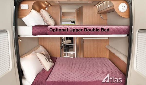 Luxury Campervan – 2 or 4 Berth4