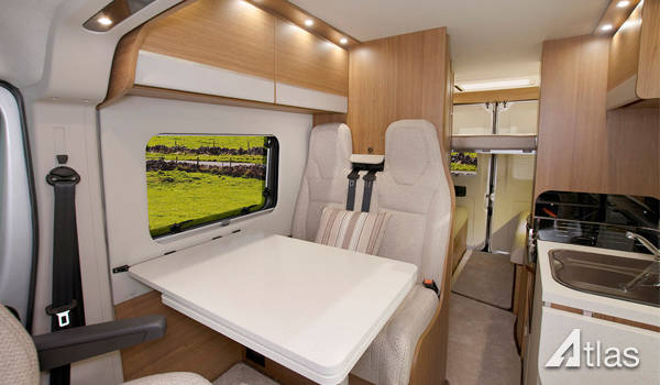 Luxury Campervan – 2 or 4 Berth2