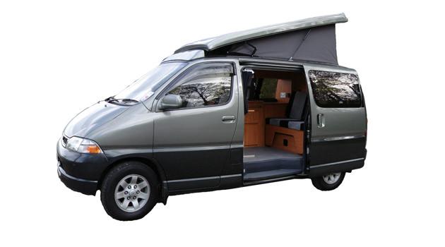 Compact Campervan – 2+2 Berth1