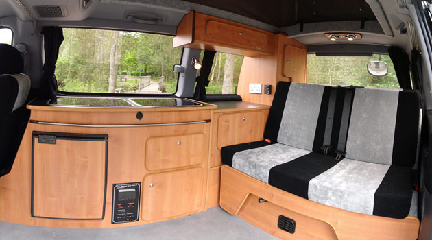 Compact Campervan – 2+2 Berth2