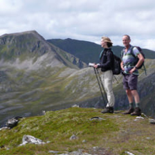 couple hill walking scotland