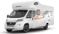 Premier Motorhome: 6 berth with rear beds (Manual)