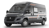 Luxury Campervan – 2-4 berth (Manual)