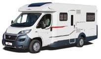 Premier Motorhome : 2-4 berth with fixed bed (Manual)