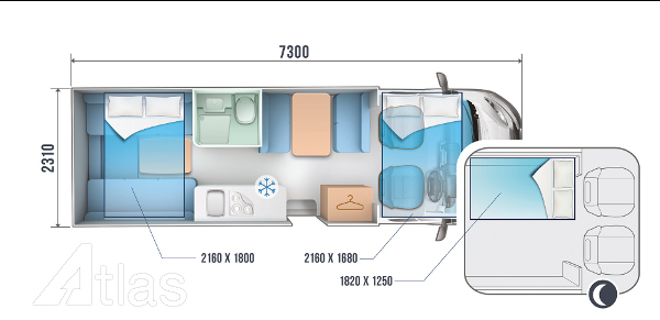pet friendly layout of roller team 746