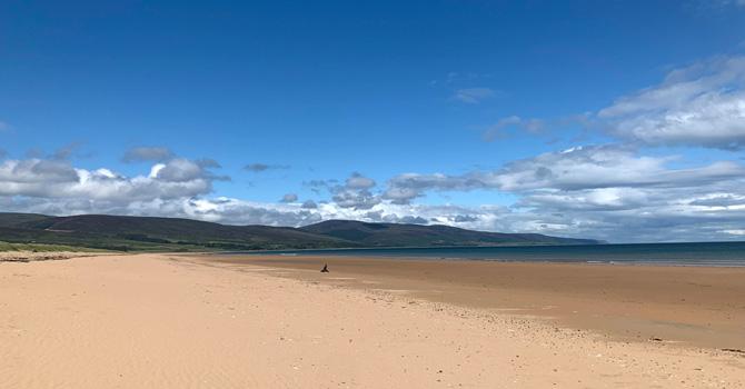 Brora Beach Sutherland