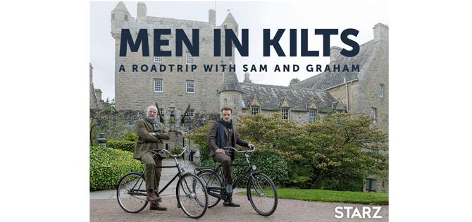 campervan tv programme men in kilts