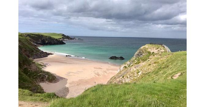 durness beach north coast 500