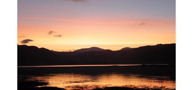 lochcarron sunrise north 500 route