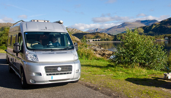 campervan trip to the scottish isles