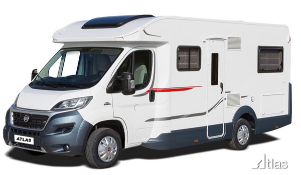 Premier Motorhome : 2-4 berth with fixed bed (Manual)1