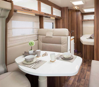 Premier Motorhome : 2-4 berth with fixed bed2