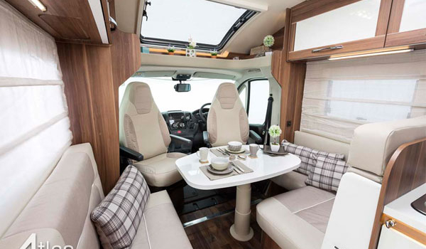 Premier Motorhome : 2-4 berth with fixed bed3