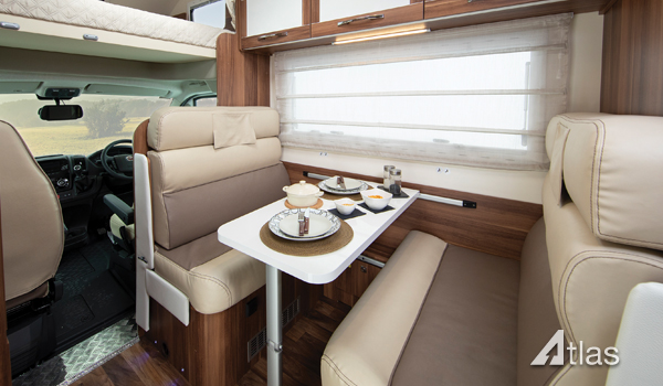 Premier Motorhome Hire – 5 Berth with Rear Lounge (Automatic)6