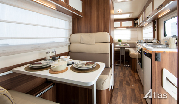 Premier Motorhome Hire – 5 Berth with Rear Lounge (Automatic)5