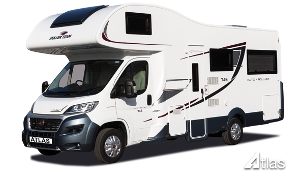 Premier Motorhome Hire – 5 Berth with Rear Lounge (Automatic)1