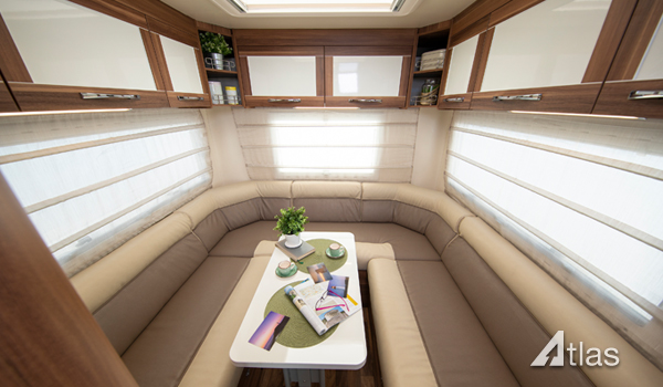 Premier Motorhome Hire – 5 Berth with Rear Lounge (Automatic)2