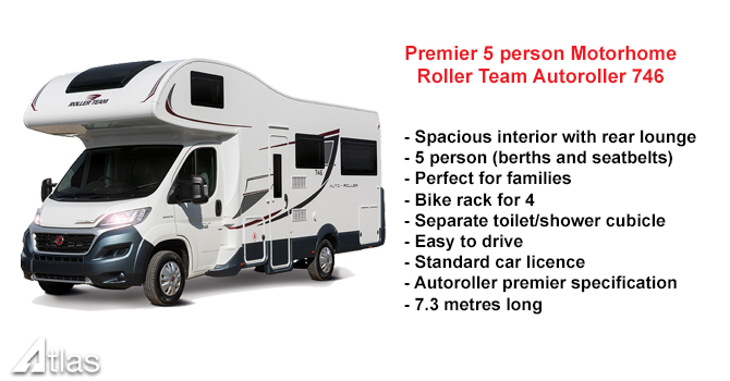 Roller Team Autoroller 746 motorhome for hire