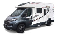 Luxury Motorhome Hire : 4 Berth (Automatic)