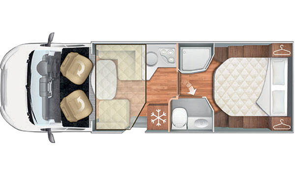 Premier Motorhome 2-5 Berth with Master Bedroom (Automatic)5